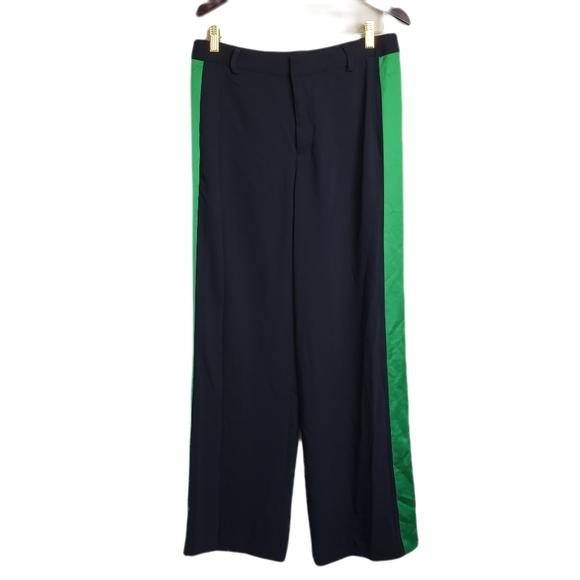 Lauren Ralph Lauren Pants - NWT Ralph Lauren Navy Green Side Strip Dress Pants
